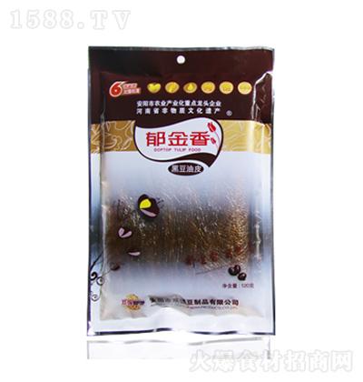 郁金香 黑豆油皮 120克
