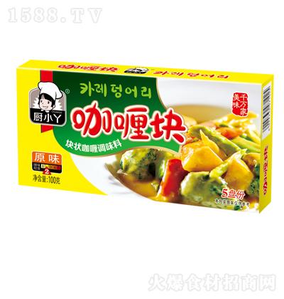 厨小丫 原味咖喱块 100克