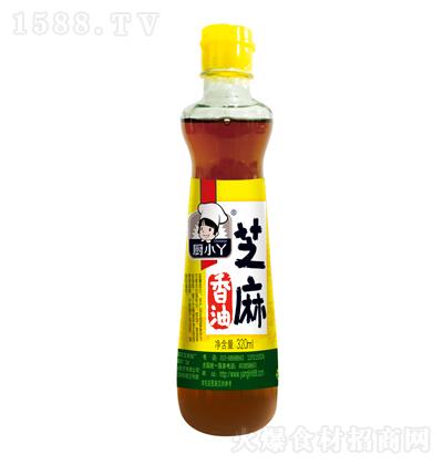 厨小丫 芝麻香油 320克