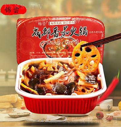 锦尝 成都番茄自热火锅