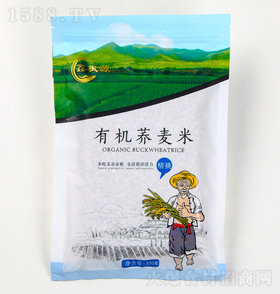 鑫枫源 有机荞麦米 350克
