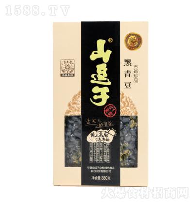 山逗子 黑青豆 380g