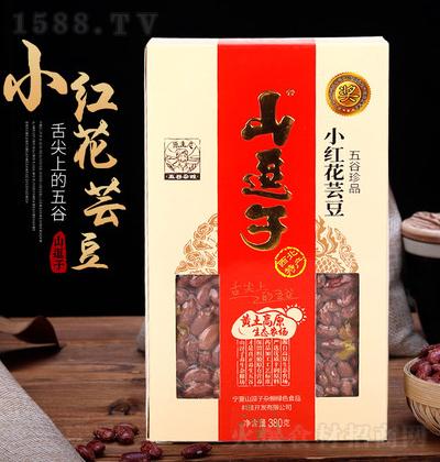 山逗子 小红花芸豆 380g