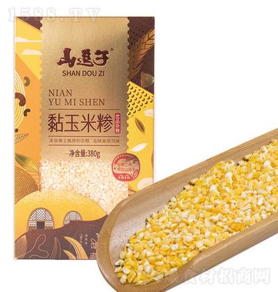 山逗子 粘玉米糁 380g