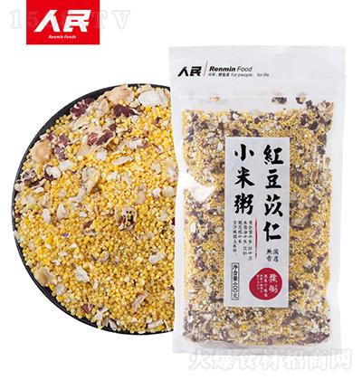 人民食品 红豆苡仁小米粥 400g