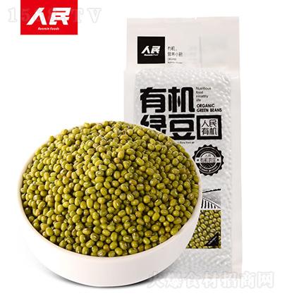 人民食品 有机绿豆 1000g