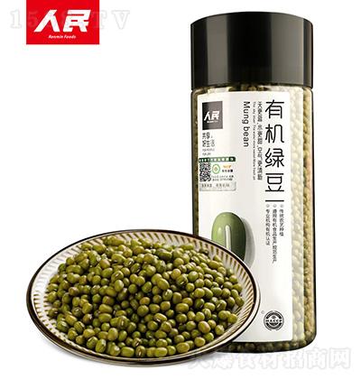 人民食品 有机绿豆 400g