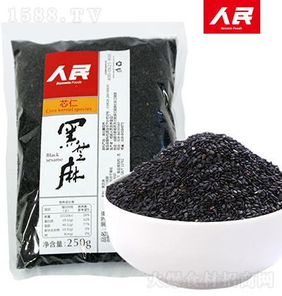 人民食品 黑芝麻 250g
