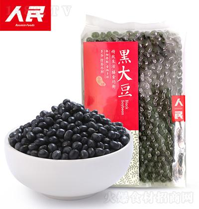 人民食品 黑大豆 420g