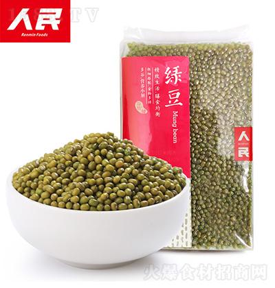 人民食品 绿豆 500g