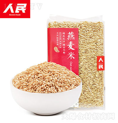 人民食品 燕麦米 500g