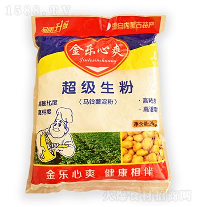 金乐心爽 生粉(马铃薯淀粉)2kg