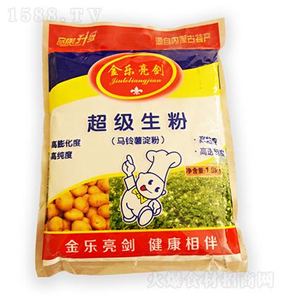 金乐亮剑 生粉(马铃薯淀粉)1.9kg