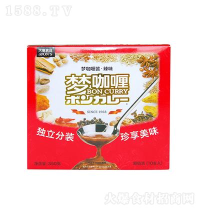 大�V食品 梦咖喱酱十支装(辣味)350g