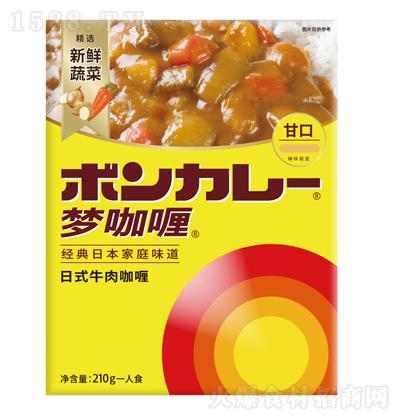 甘口 日式牛肉咖喱 210g