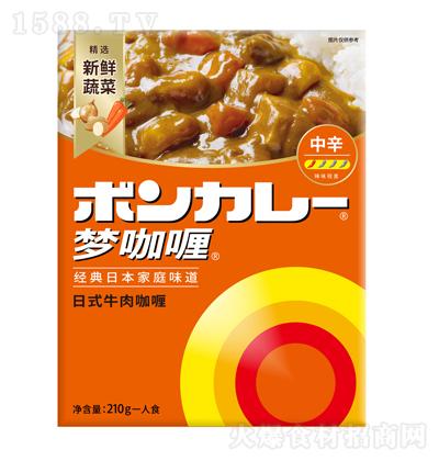 中辛 日式牛肉咖喱(不辣) 210g