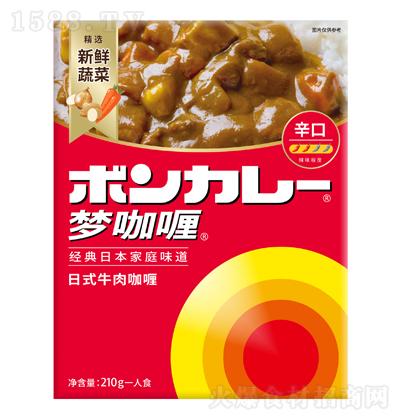 中辛 日式牛肉咖喱(中辣) 210g