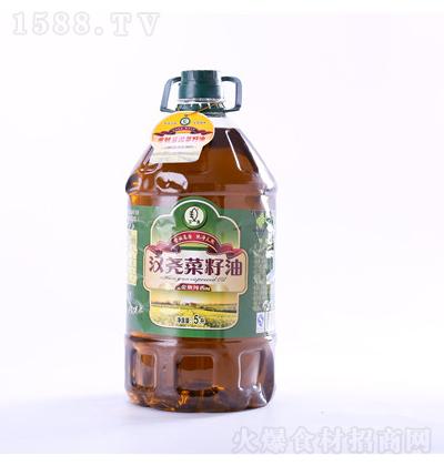 汉尧 菜籽油金典纯香级 5L
