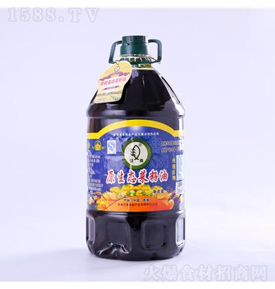 汉尧 原生态菜籽油 5L
