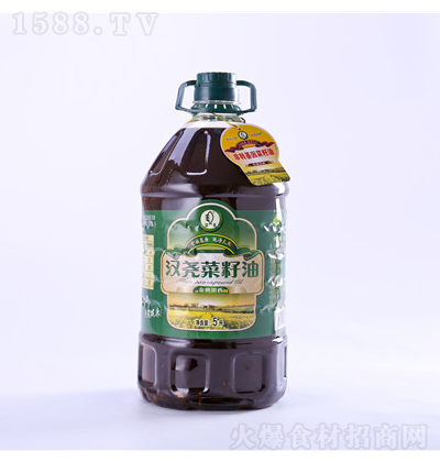 汉尧 菜籽油金典浓香级 5L