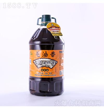 汉尧 菜籽油毛油香 5L