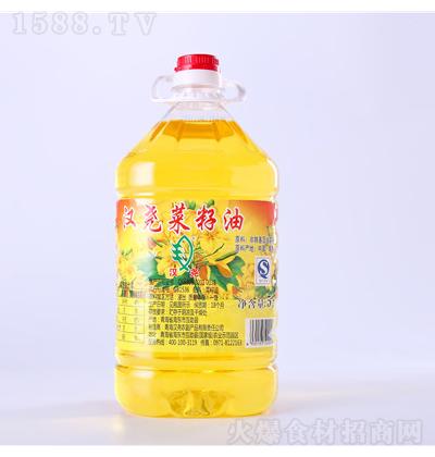 汉尧 菜籽油一级 5L