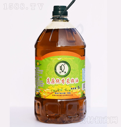 汉尧 高原纯香菜籽油 5L