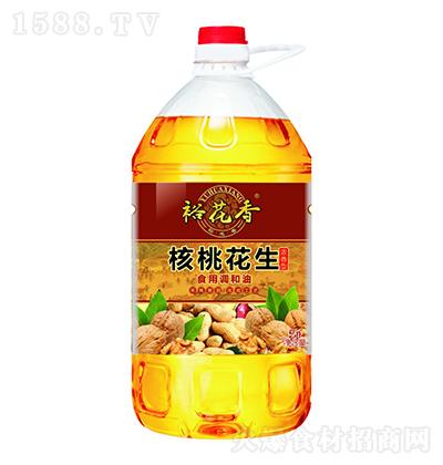 裕花香 核桃花生食用调和油 5升