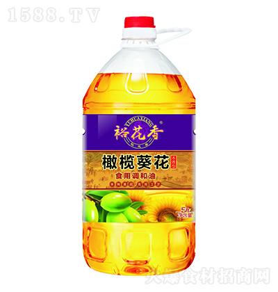 裕花香 橄榄葵花食用调和油 5升