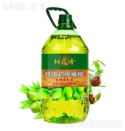 裕花香 特级初榨橄榄食用调和油 5升