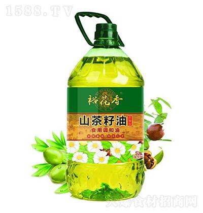 裕花香 山茶籽油-食用调和油 5升