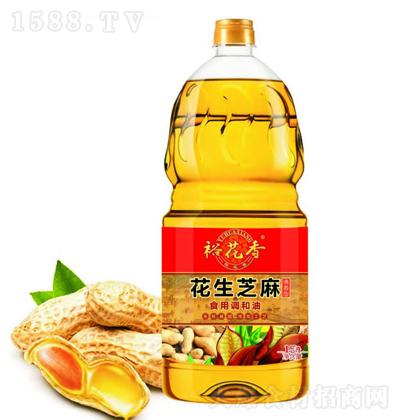 裕花香 花生芝麻食用调和油 1.5升