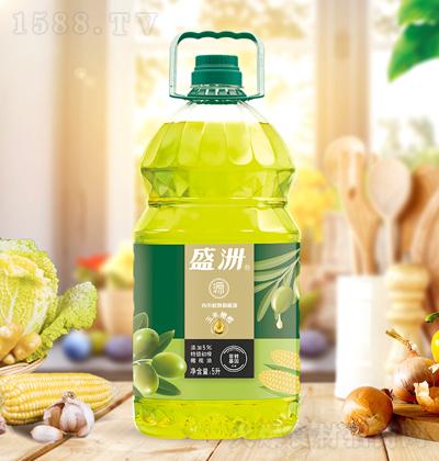 盛洲 玉米橄榄食用植物调和油 5升