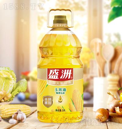 盛洲 玉米油 5升