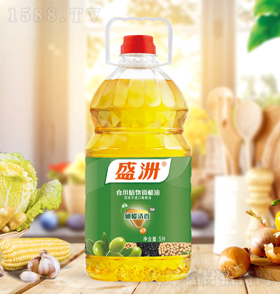 盛洲 橄榄清香食用植物调和油 5升