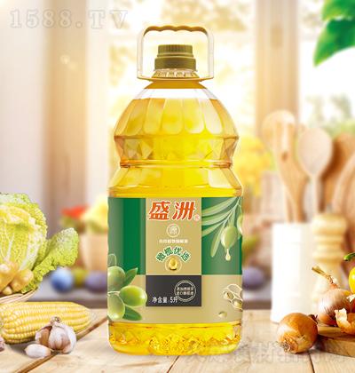 盛洲 橄榄优选食用植物调和油 5升