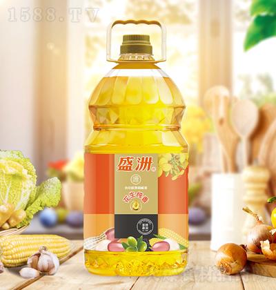 盛洲 花生纯香食用植物调和油 5升