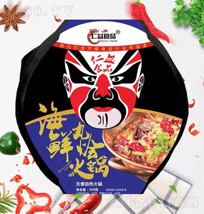 仁益食品 海鲜丸烩火锅 390克