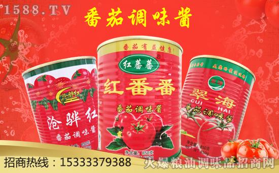 赤番香番茄调味酱,酱汁浓郁!酸甜可口!