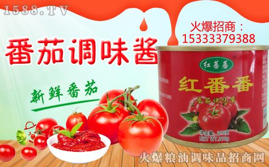 红蕃蕃番茄酱,酸甜好滋味,就选红蕃蕃!