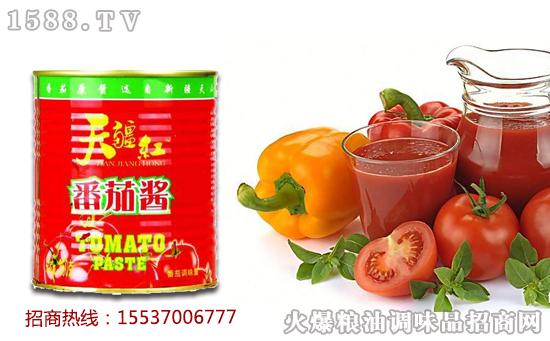 天疆红番茄酱,给生活加点儿营养!