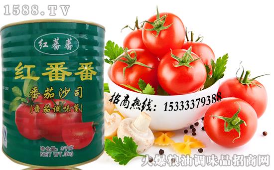 红番番番茄沙司,多种吃法,享不同美味!