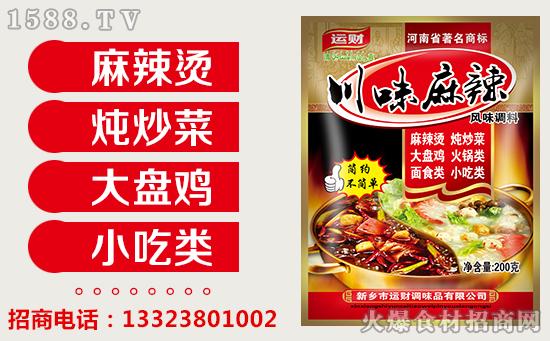 运财川味麻辣风味调料,让您尽享麻辣美味,轻松做出好菜肴!