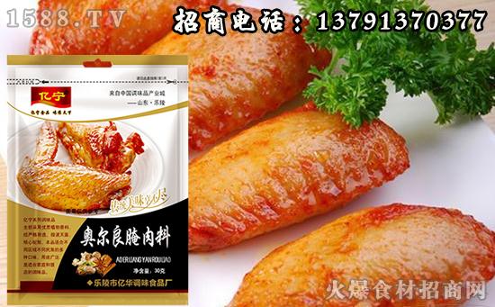 亿宁奥尔良腌肉料,咸甜适中,传统美味享不尽!