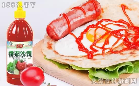 晋豪番茄沙司,浓浓番茄香,全家齐分享!