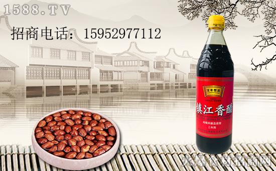百年恒庆镇江香(陈)醋,口感绵和,色浓而味鲜!