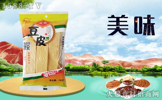 绿翠精品豆皮,鲜香下饭还补钙,开胃又解腻!