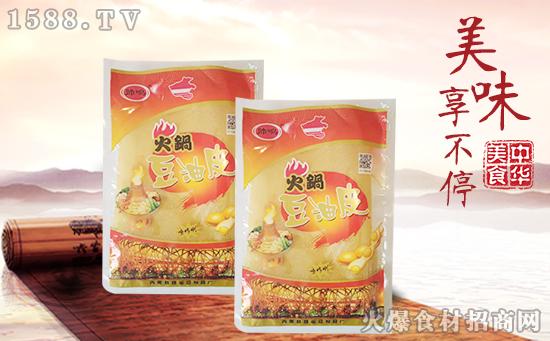 帅鸣火锅豆油皮,味道鲜美,只为让您品尝新鲜的美味!
