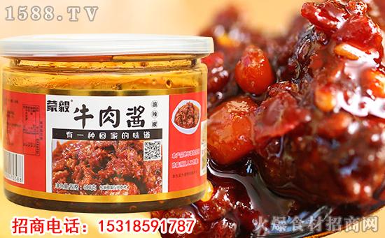 蒙毅牛肉酱油辣椒,口感鲜辣,味香怡人!