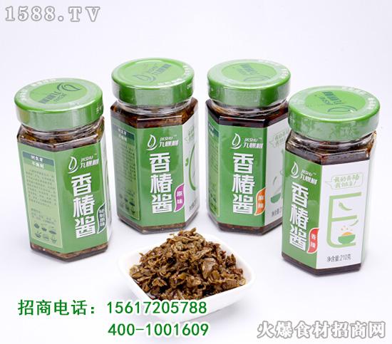 十年树、头茬芽、不腌制!九棵树香椿酱,常吃常青春!